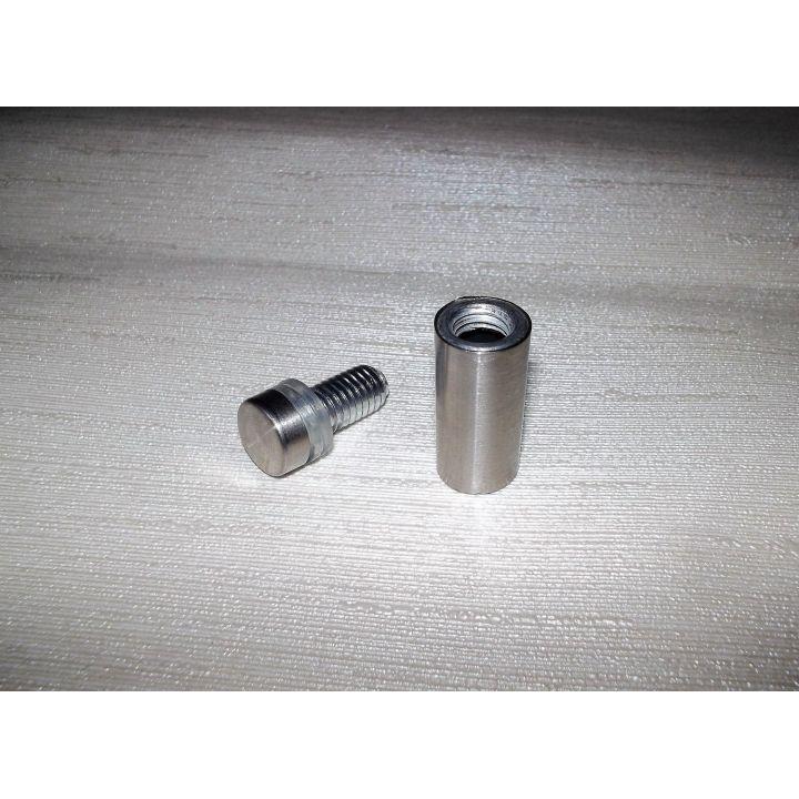 Дистанционное крепление стекла нерж. 12Х30