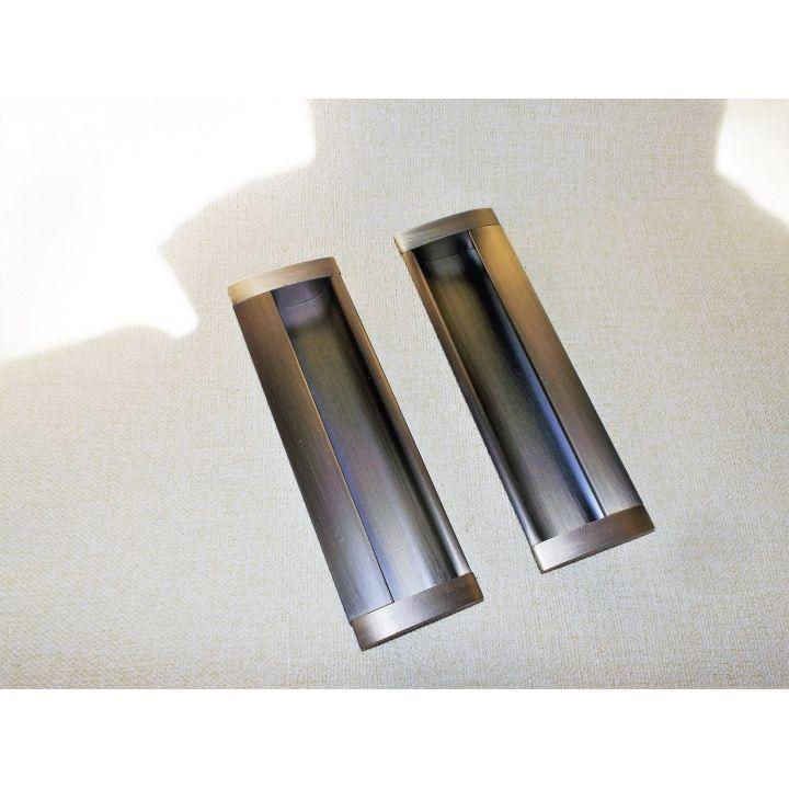 Ручки на раздвижную дверь UA08 / 128мм Бронза
