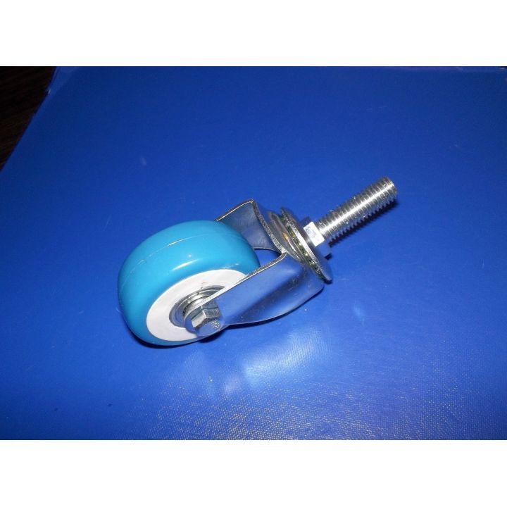 Колесо на подшипнике резьба М10 синее