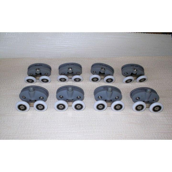 Набор двойных роликов для душевой кабины R-18 /23мм
