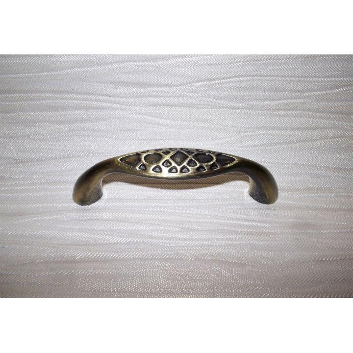 Ручка мебельная кобра 64мм бронза