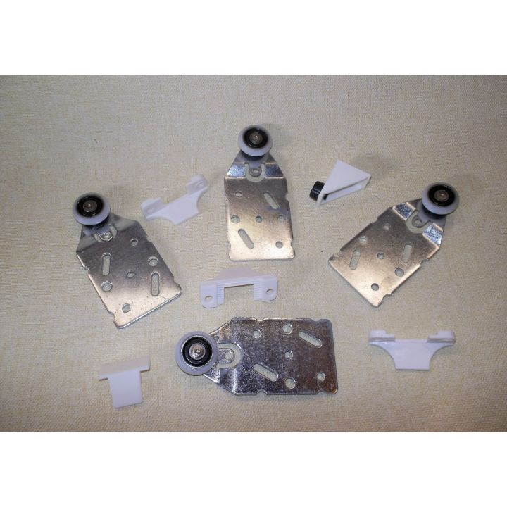 Комплект роликов Новатор для подвесной двери 30кг