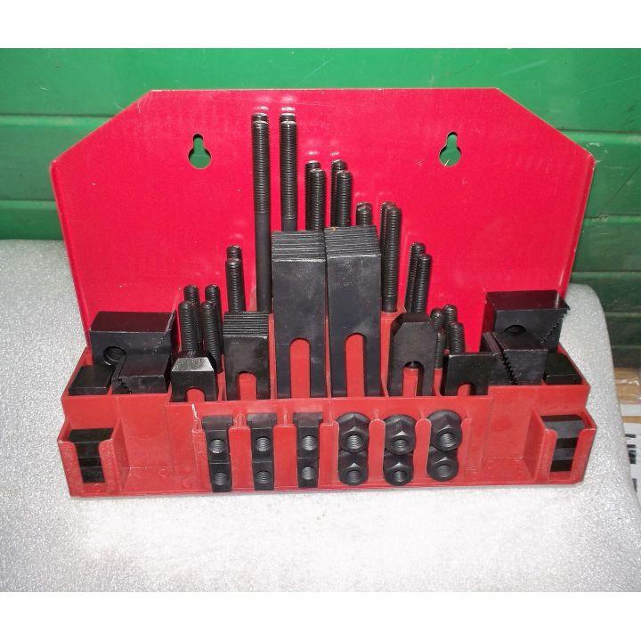 Комплект прихватов для столов фрезерных станков под паз 12мм (М10)